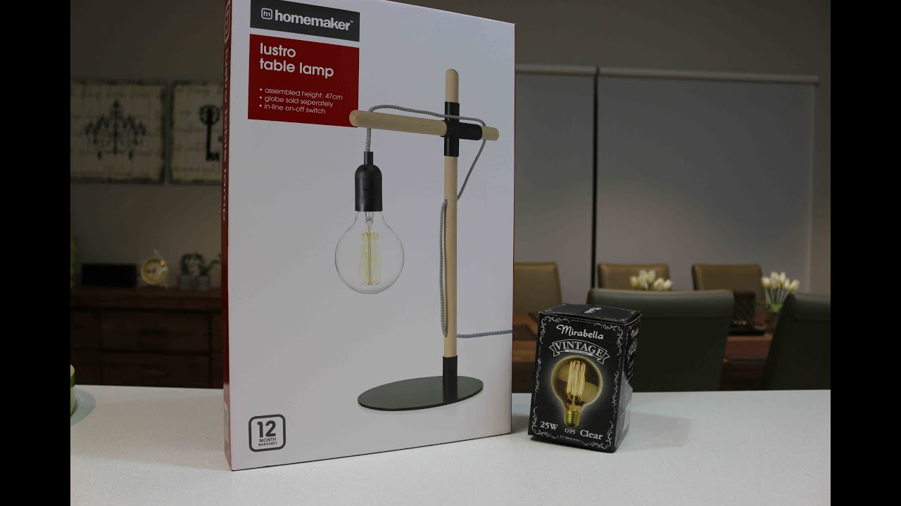 Kmart $20 Lustro Lamp Unboxing U0026 Review