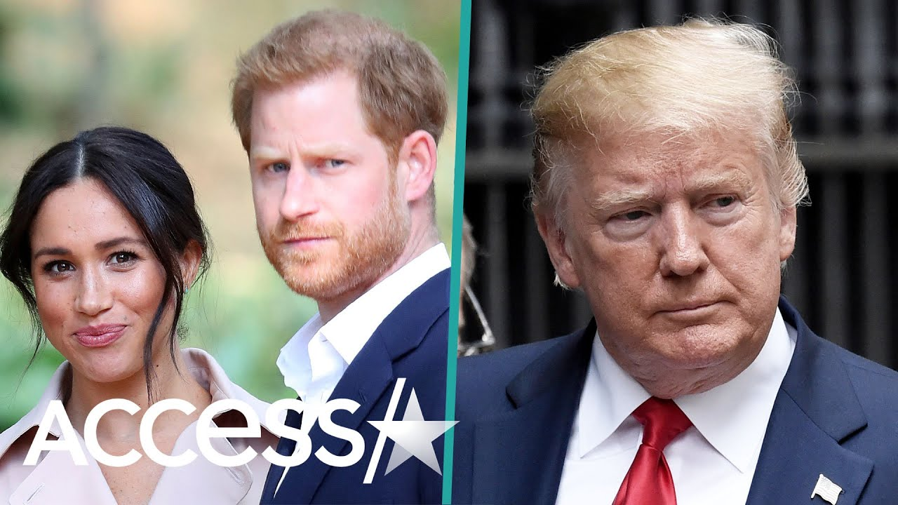 Why Meghan Markle And Prince Harry Are Skipping President Trump's Buckingham Palace Visit