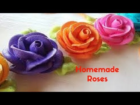 HOW TO MAKE ROSES USING WASTE MATERIALS FOR HOME DECORATION | HOME DECOR IDEAS