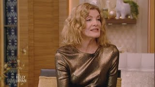 Rene Russo Keeps Cool in an Ice Truck