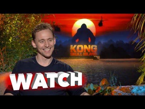 Kong Skull Island: Tom Hiddleston Exclusive Movie Interview