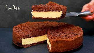 КОРОЛЕВСКИЙ пирог за считанные минуты ДАЖЕ тесто замешивать не надо Шоколадный пирог с творогом