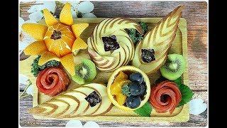 과일 예쁘게 모양내기 2 _ 특별한 손님을 위한 나만의 과일 플레이팅(Fruit plating)