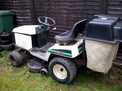 My Bolens St 120 Ride On Lawnmower Youtube