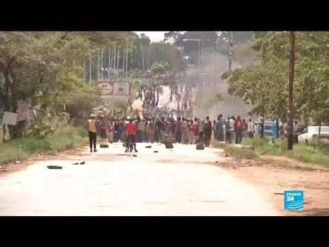 Mnangagwa announces probe into police response to Zimbabwe protests