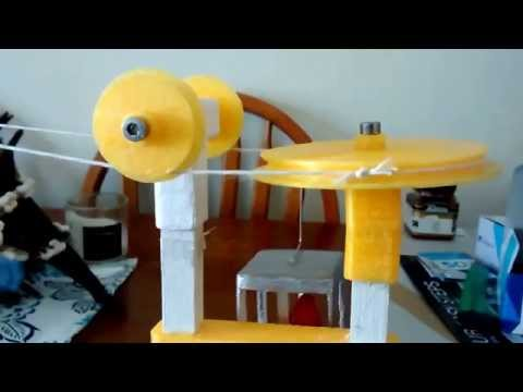 3D Printed Cable Car