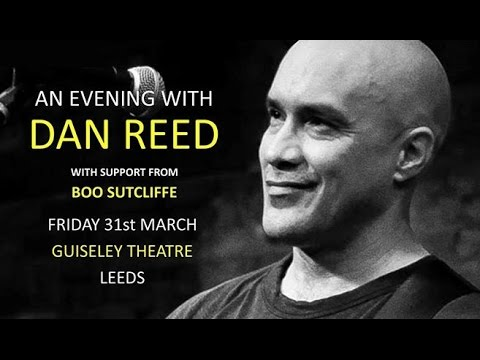 Dan Reed Acoustic Solo Full concert  Guiseley, Leeds March 31 2017