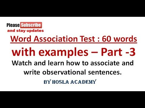 SSB WAT || Part 03 || Solved Word Association Test || SSB Interview