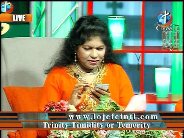 Trinity Timidity or Temerity  Dr. Dominick Rajan 03-16-2018