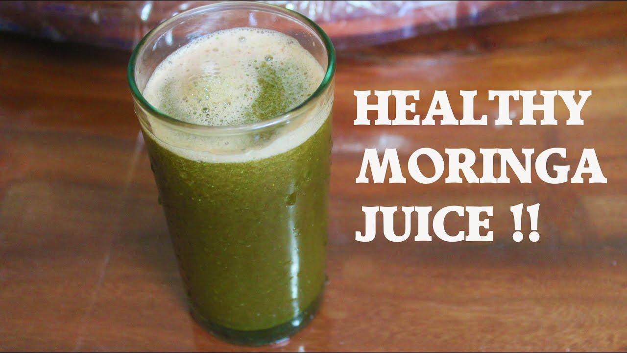 How To Make Moringa Drink