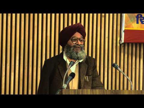 Second Punjabi Diaspora Conference 2014 Organised by Pbi. Department PUP, Dr. Gyan singh