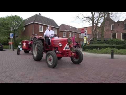 Boerenmaandag Nijkerk  -  Oldtimer-optocht van trekkers