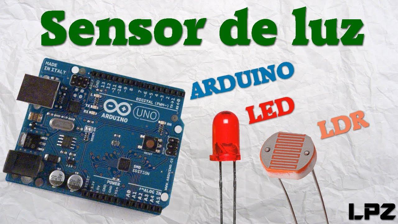 Arduino ldr led sensor de luz tutorial youtube - Sensor de luz precio ...