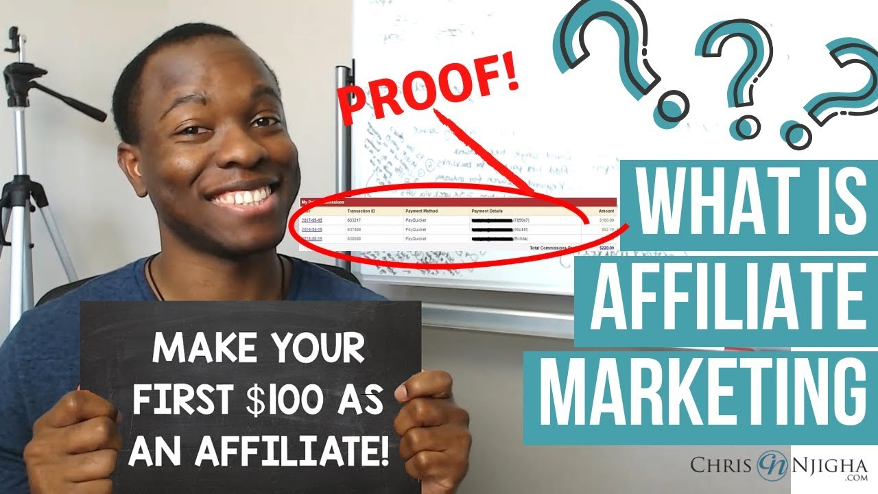 What is Affiliate Marketing? - How to Make Your First $100 as an Affiliate! (with Proof)