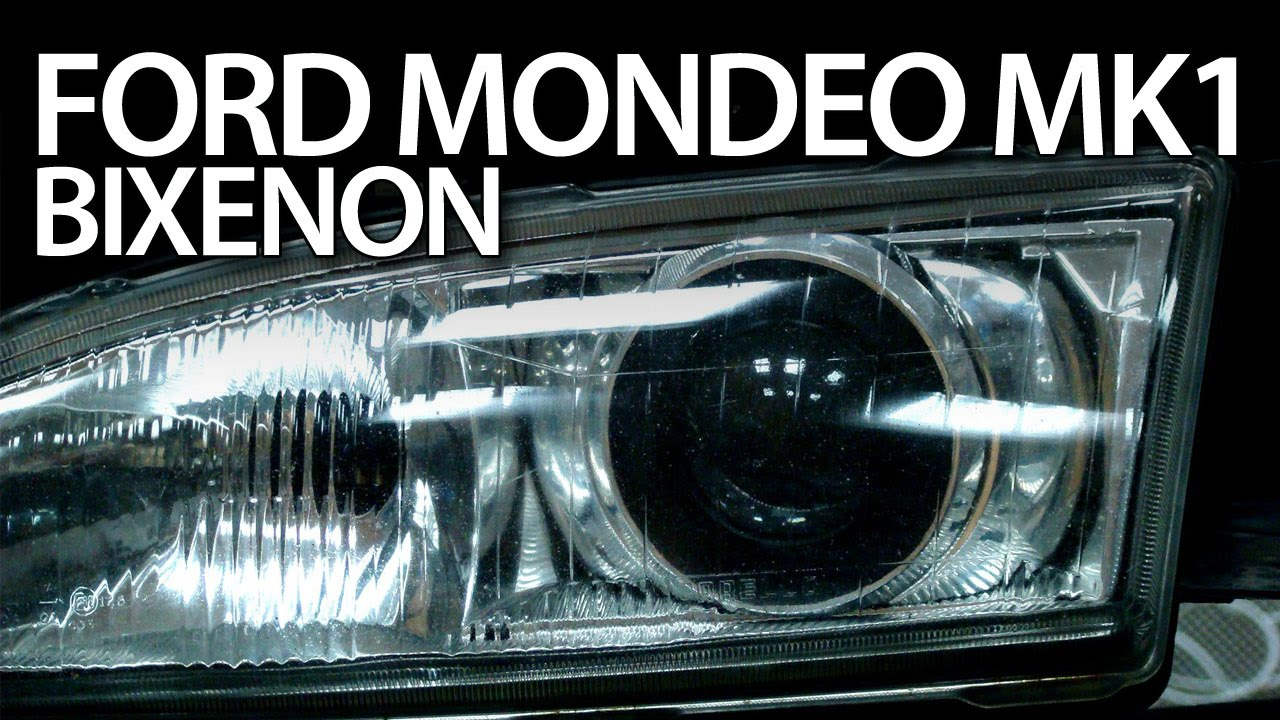 Slideshow Ford Mondeo Mk Bi Xenon Hid Headlights Tuning Modification Oem Look Youtube