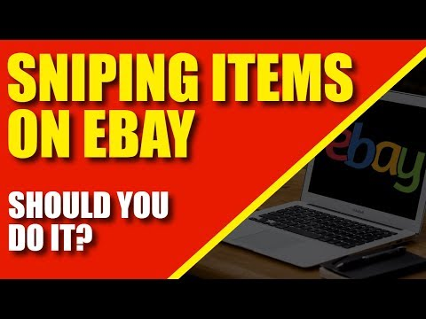 Sniping Items On Ebay: Should You Do It?