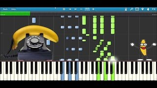 Banana Phone | Mercuzio Arrangement | Piano | Synthesia