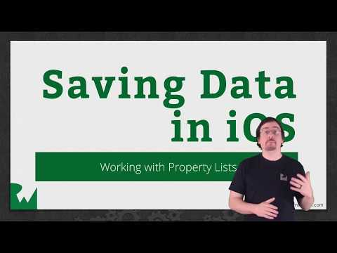 Property Lists - Saving Data in iOS - raywenderlich.com
