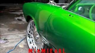 "SUDAMAR- Slime Green Cutlass Vert on 26"" Asanti's 786-255-4382"