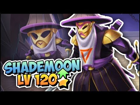 SHADEMOON (LV 120) COMBATES PVP - Monster Legends Review