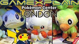 Pokémon Center London Tour! Massive Official Store, Sword & Shield Demos, & More!