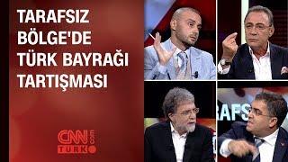 Tarafsız Bölge'de Türk Bayrağı tartışması