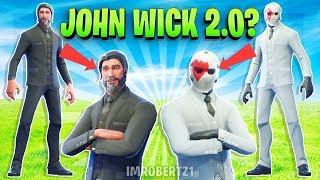 John Wick 2.0? Wild Card Skin High Stake LTM in Fortnite