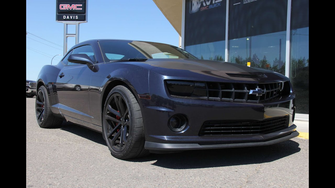 pre owned 2013 chevrolet camaro ss for sale in medicine hat ab youtube. Black Bedroom Furniture Sets. Home Design Ideas