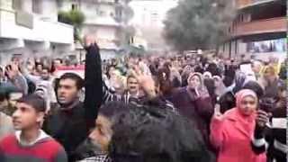 ما لم تشاهده من قبل حشود منطقة السيوف شماعة مليونية #لبيك_ام_الشهيد الجمعة 6-12-2013