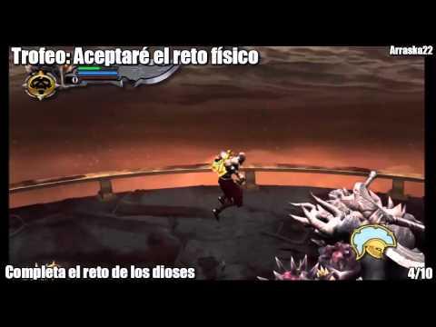 God Of War | Challenge Of The Gods 1-7 | Desafio de los Dioses 1-7