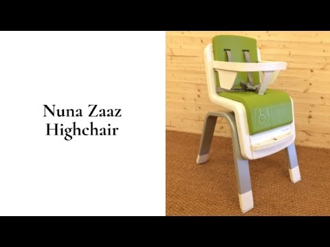 Nuna Zaaz Highchair Review | BuggyPramReviews