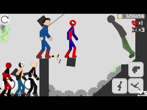Thumbnail: Stickman Backflip Killer 3 Final Boss All Characters Unlocked (Deadpool, Spiderman, Wolverine) Hack