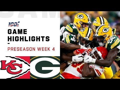 Chiefs vs. Packers Preseason Week 4 Highlights   NFL 2019