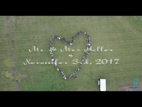 Heller Wedding 2017 - Heart Reveal