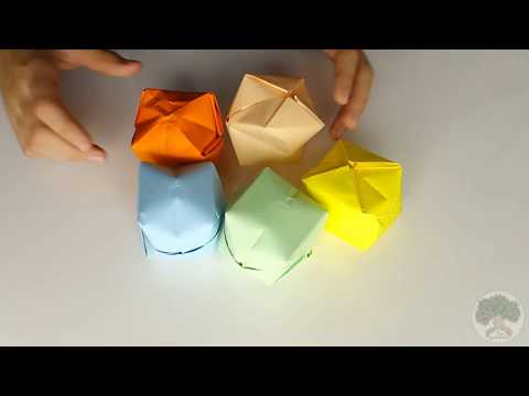 How To Make Origami Cube Easy DIY