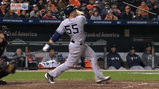 2012 ALDS Gm1: Martin's homer puts Yanks up in 9th