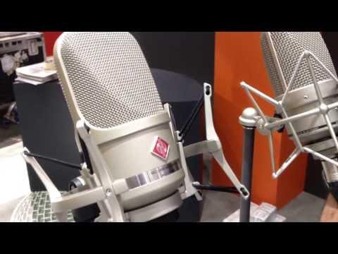 "NAMM 2014 NEW Microphones from Neumann Part 1 ""TLM 107"""