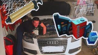 Замена Масла в Audi с Помощью Насоса Откачки Масла