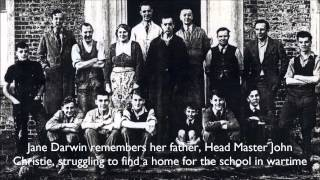 Jane Darwin remembers her father, Head Master John Christie