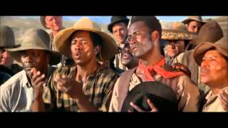 Blazing Saddles Railway Workers Fool the Henchmen