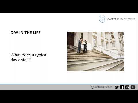 Career Choice Series: Administrative Agencies and Administrative Law Judges
