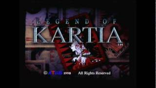 PS1 Game - Legend of Kartia - Long Intro (pt1of2)
