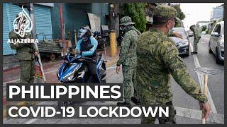 HRW: COVID-19 lockdown violators in Philippines abused