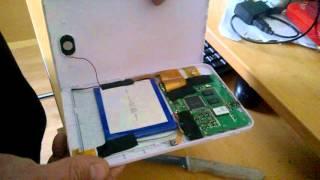 como abrir y reparar tablet de la ocu