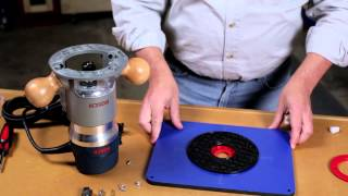 How To Drill Mounting Holes In The Kreg Precision Insert Plate