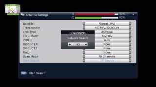 How to add TP on StarSat SR-2000HD Hyper