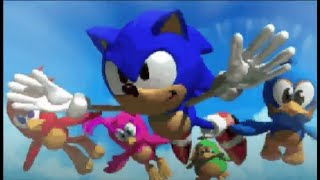 Sonic 3D Blast PC (97) Intro HD