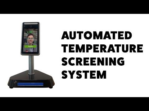 Richtech AATSS V2 AI Temperature Screening System - Demo & Interfaces