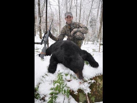 2011 Adirondack Bear Hunt - Snow Tracking