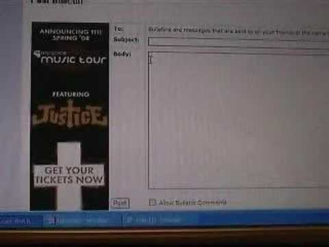 Embedding Myspace Music Player